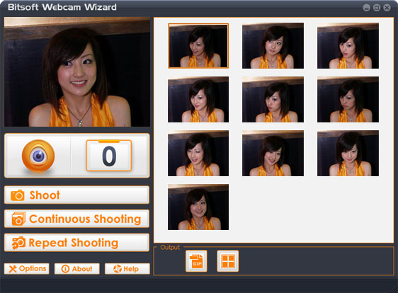 Click to view Bitsoft Webcam Wizard 2.0 screenshot