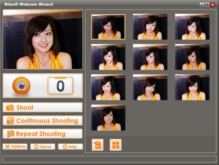 Bitsoft Webcam Wizard Resimler